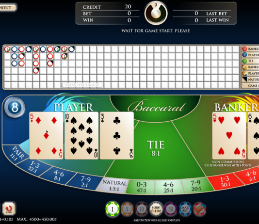 Baccarat game like a pro